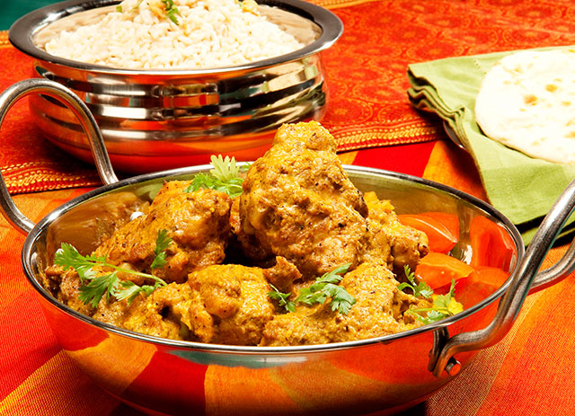 Karahi de blanc de poulet