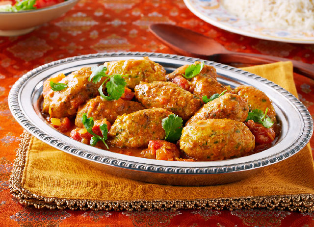 Korma Curry Chicken Kofta