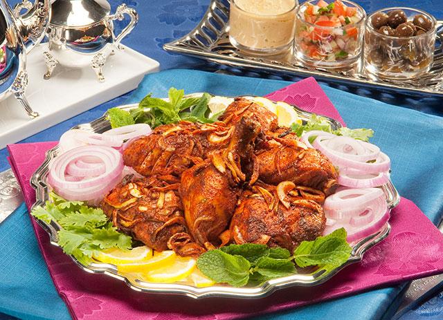 Middle Eastern Roast Chicken