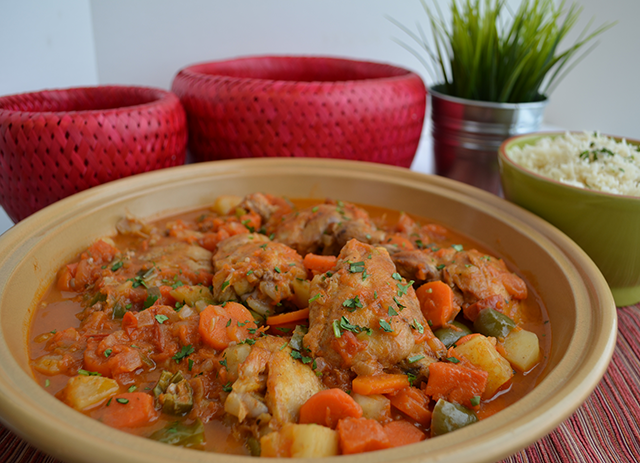 Maraq Somali Chicken Stew
