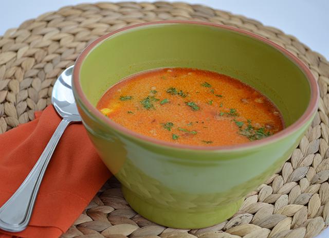 Soupe vermicelle au poulet à la turque