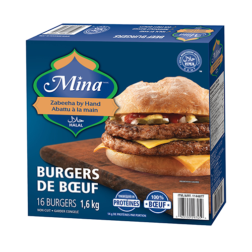Burgers de bœuf