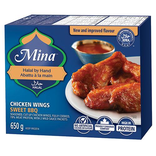 Sweet BBQ Wings