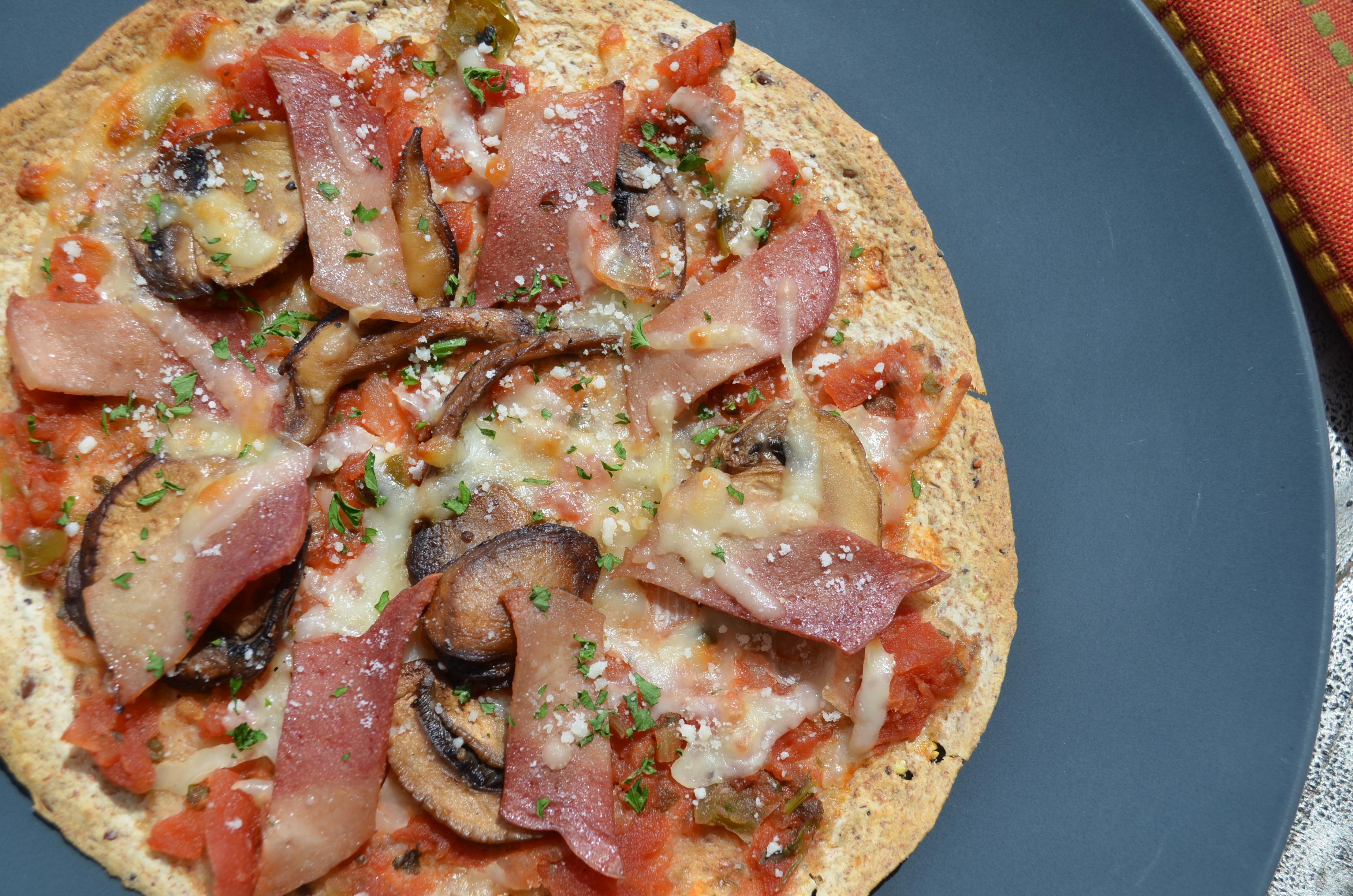 Pizza pour le déjeuner