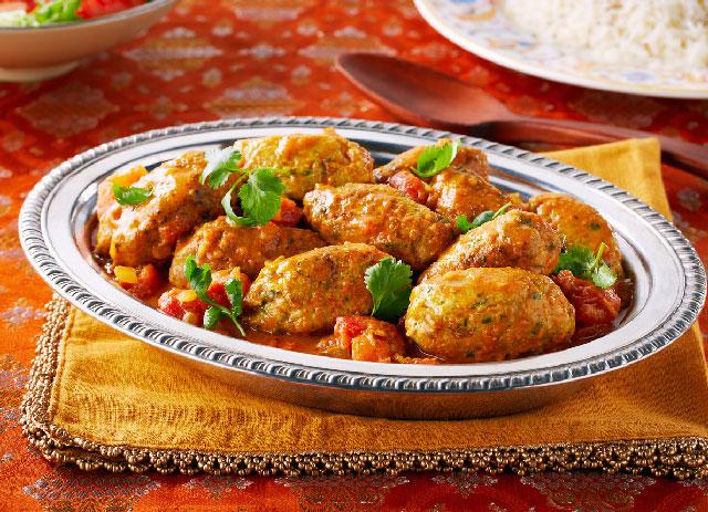 Kefta au poulet de cari korma