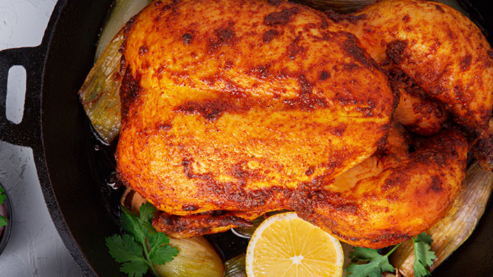 Tandoori Roasted Chicken